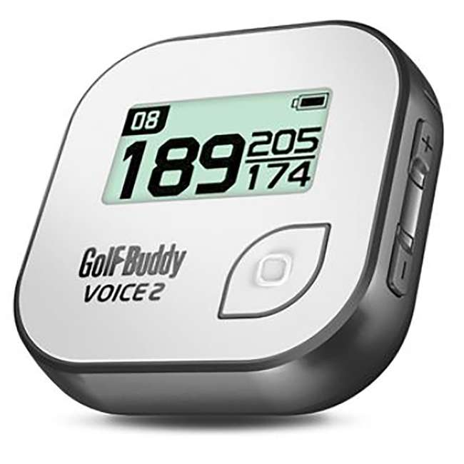 GB7-VOICE2-GREY + PGSMGps Golf Buddy Voice 2 Talking GPS Range Finder Golfwith Smart Marker Bluetooth Golf Shot Tracker 1