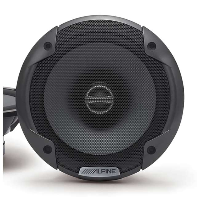 4 x SPE-6000 Alpine Type-E 6.5-Inch 240W Coaxial 2-Way Speakers, Pair (4 Pack) 4