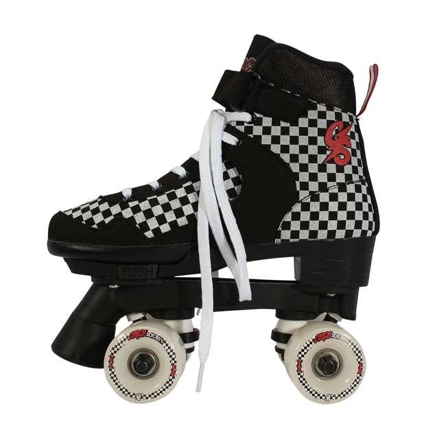 168221 Circle Society Street Checkered Kids Skates, Sizes 3 to 7 3