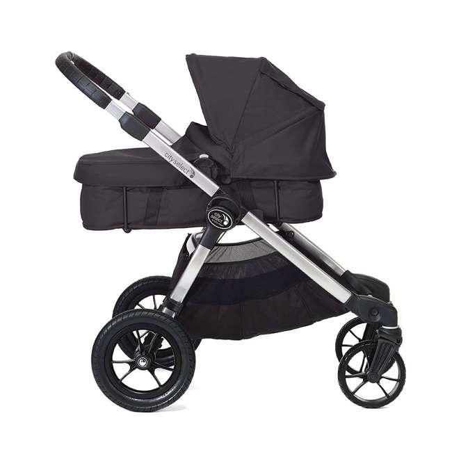 1959130 + 50926 Baby Jogger City Mini Compact Baby Travel Stroller + Pram Bassinet Kit 8