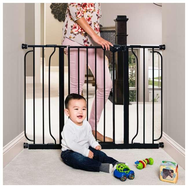 REG-1164EBDS Regalo 51-Inch Easy-Step Extra Wide Walk-Thru Safety Gate (2 Pack) 3