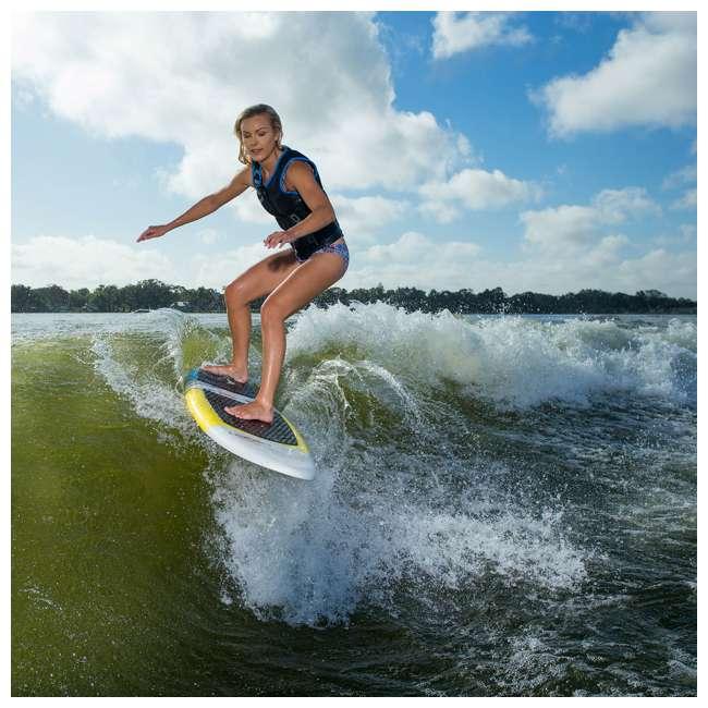2191174-MW O'Brien Watersports Pike Foam Deck Ultralight Stringer Core Wakesurf Board 5