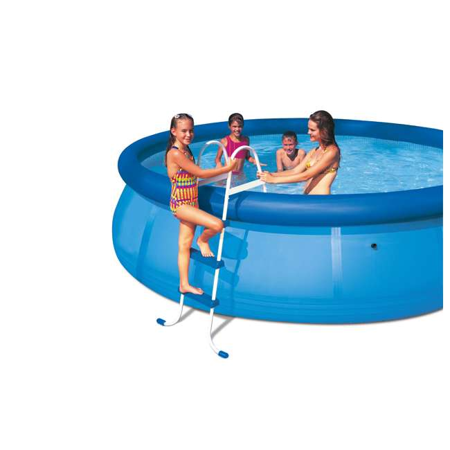 Intex above ground swimming pool ladder for 42 wall for Piscine portable intex