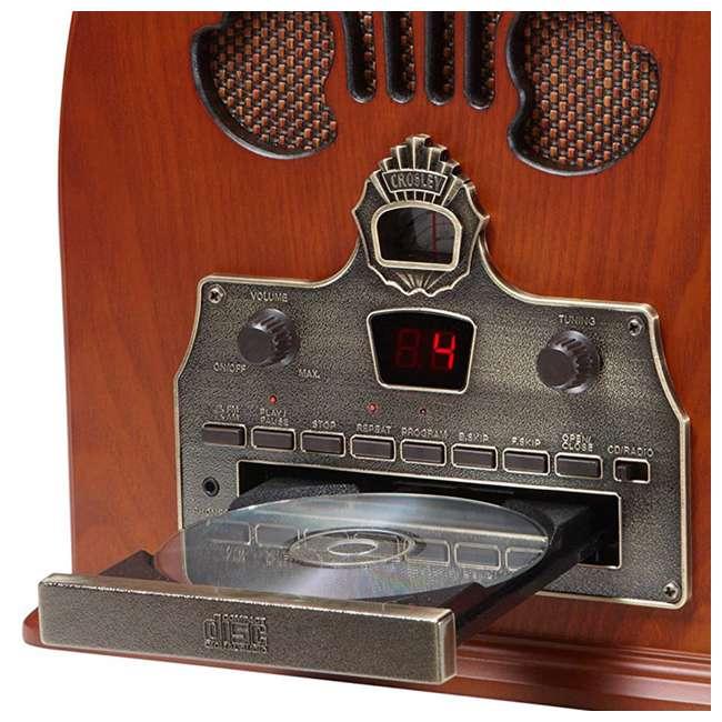 CR32CD Crosley Retro Cathedral AM/FM Radio CD Player 4