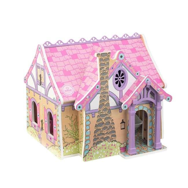 KDK-65930 KidKraft Enchanted Forest Wooden Dollhouse 5
