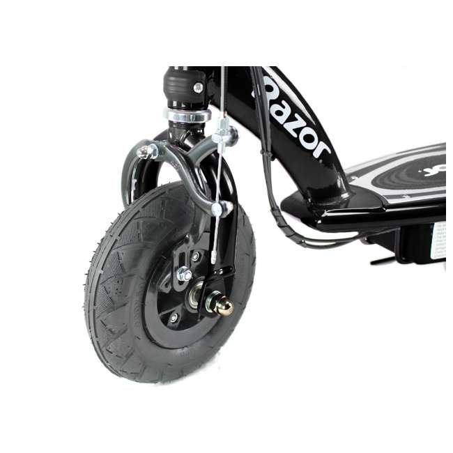13110097 + 13111250 Razor E100 Kids Motorized 24V Powered Ride On Scooter, Black & Purple (2 Pack) 8