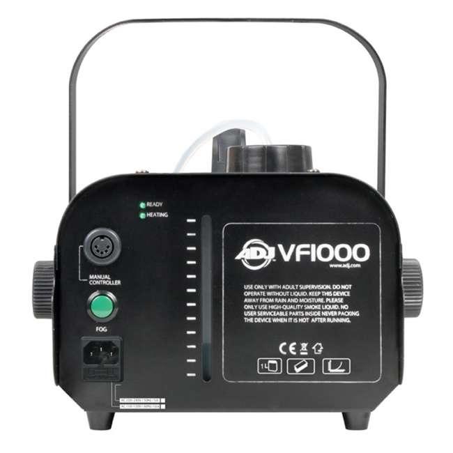 VF1000 + FJU American DJ 1000W Fog Machine with Remotes + Chauvet Fog Juice Fluid (1 Gallon) 3