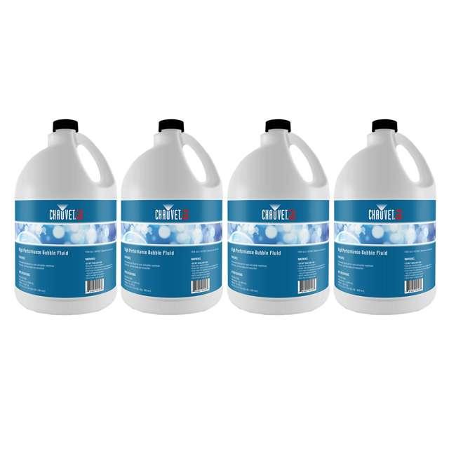 4 x BJU Chauvet Bubble Fluid, 1-Gallon (4 Pack)
