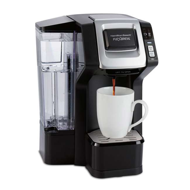49975 Hamilton Beach 49975 FlexBrew 3 Size K Cup Single Serve Coffee Maker Brewer