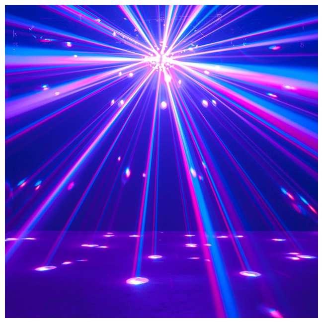 STARBURST + MINISTROBE-LED American DJ Starburst HEX LED Sphere Lighting Effect and Mini LED Strobe Light 6