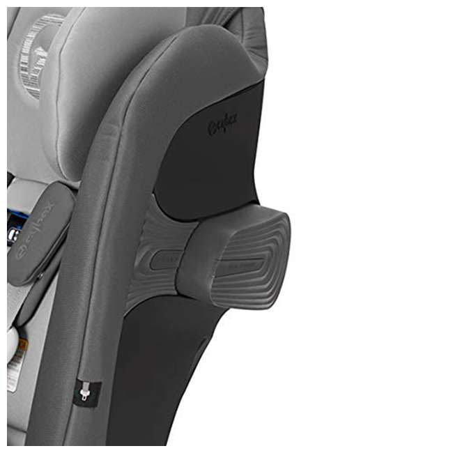 518002873 Cybex Gold Eternis S All in 1 Convertible Infant Baby Car Seat, Lavastone Black 4