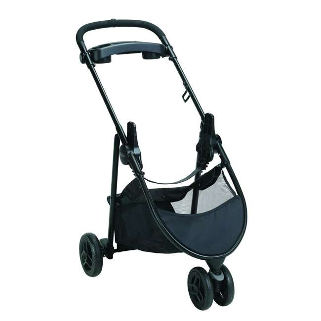 2065964 Graco 2065964 SnugRider 3 Elite 3 Wheel Portable Infant Car Seat Carrier, Black 1