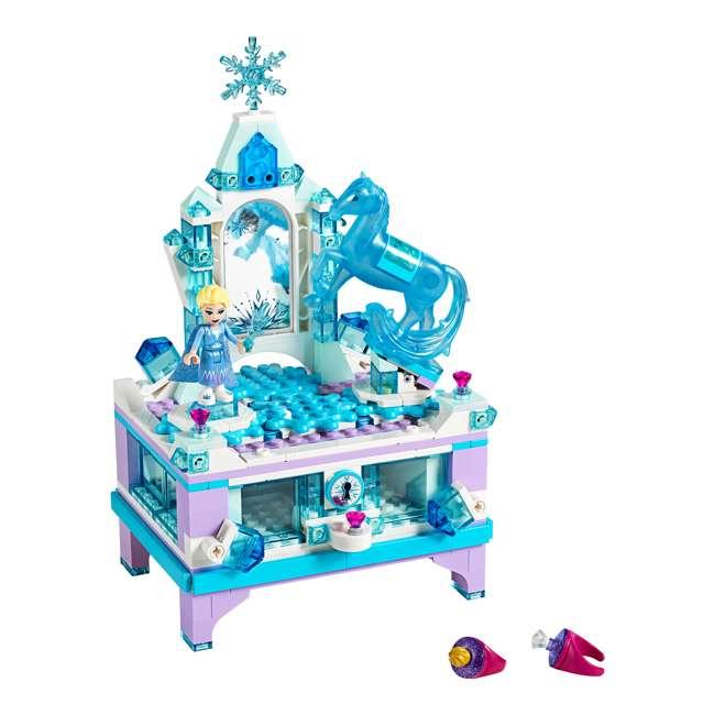6251063 LEGO 41168 Frozen II Elsa's Jewelry Box Block Building Kit w/ 2 Minifigures