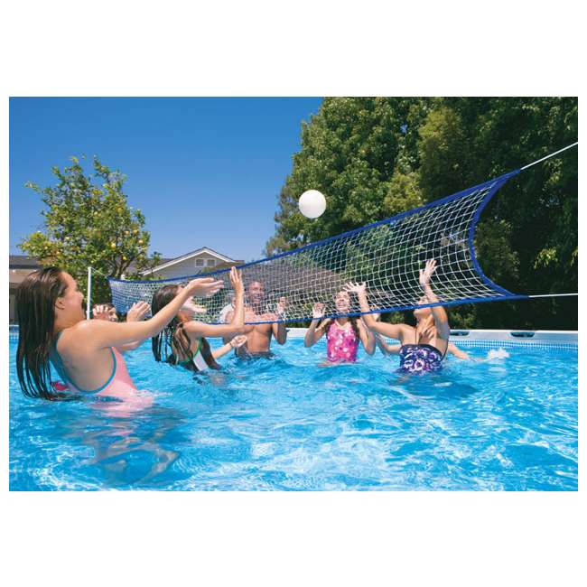 "26375EH + 2 x 58868EP + 58821EP Intex 32' x 16' x 52"" Ultra Frame Rectangular Swimming Pool 4"