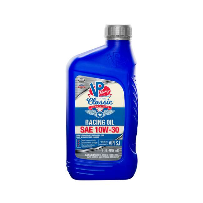 6 x 2678 VP Racing Fuels 2678 Classic Non Synthetic Racing Oil, Quart Bottle (6 Pack) 1