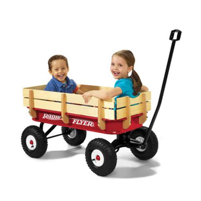 32Z Radio Flyer Full Size All-Terrain Steel and Wood Wagon