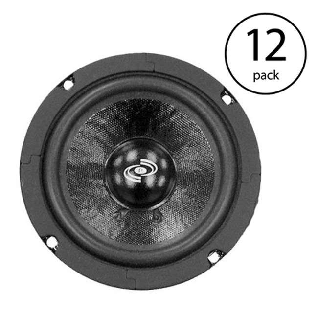 "12 x PDMW5 Pyle PDMW5 MidRange 5"" 200W Car Mid Bass Mid Range Speaker Driver Audio (12 Pack)"