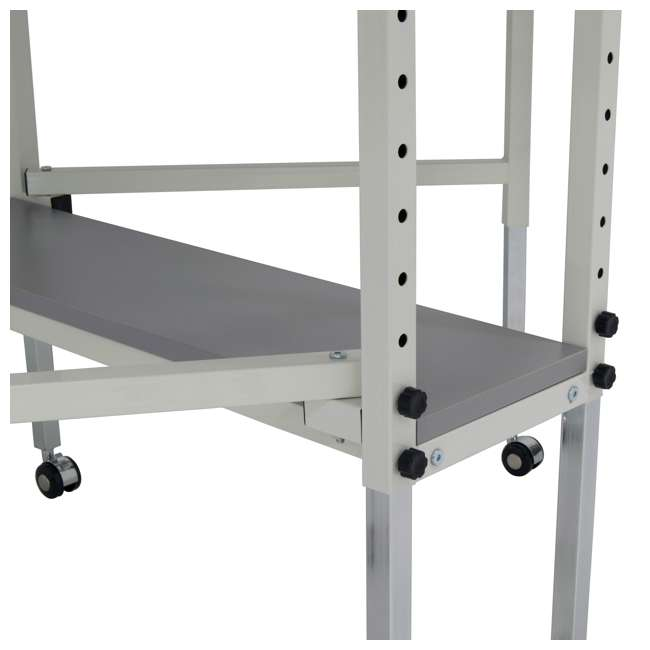 STDN-38011 Sew Ready Folding Hobby and Craft Table with Drawers 10
