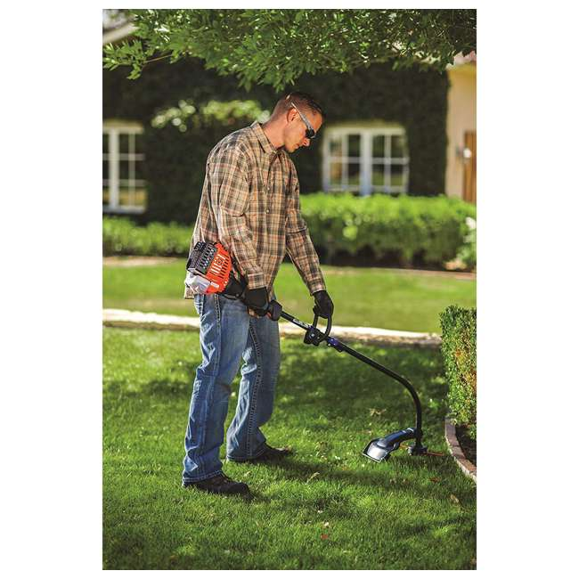 RM-41ED110G983 Remington Rustler Curved Shaft String Trimmer & Edger 2
