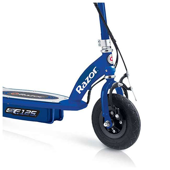 13111141 Razor E125 Motorized Rechargeable Electric Scooter, Blue (2 Pack) 4