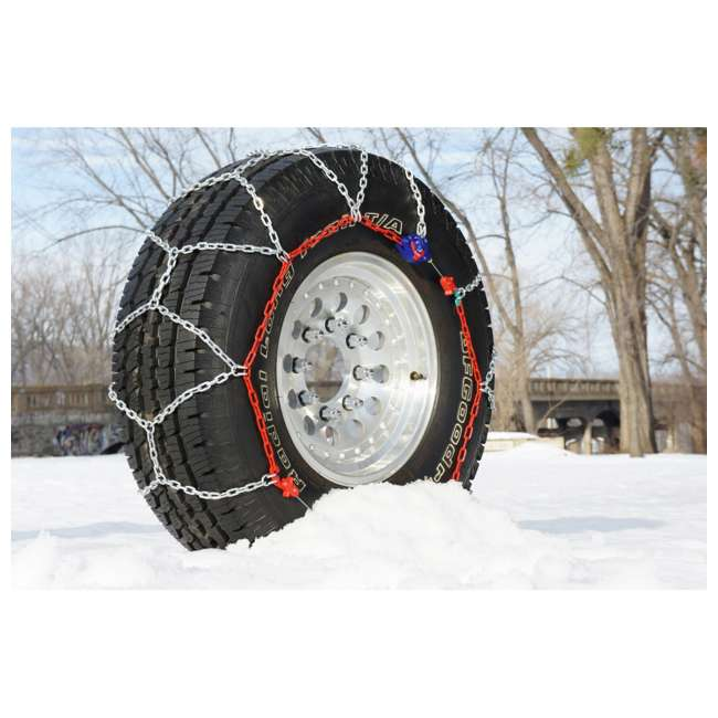 0231905 Auto-Trac 231905 Series 2300 Pickup Truck/SUV Traction Snow Tire Chains, Pair 3