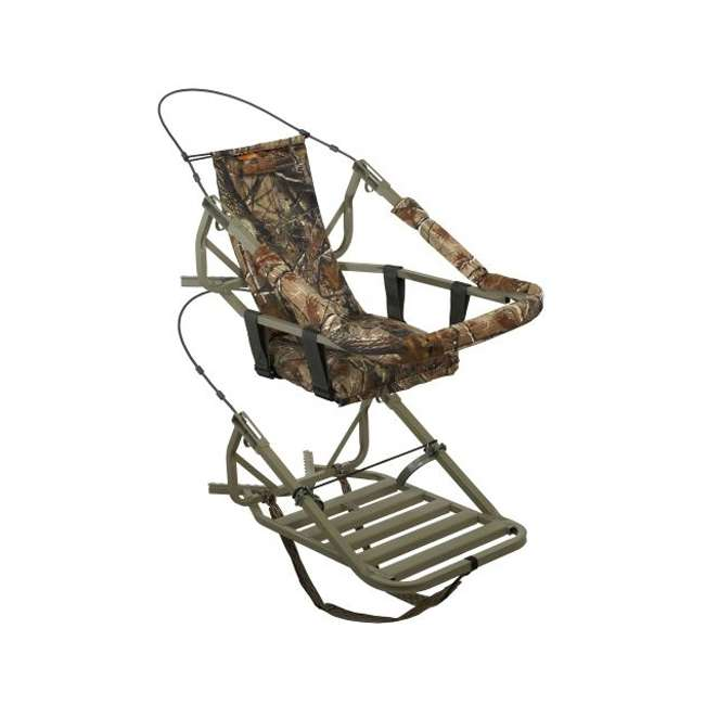 81052-VIPCLASSIC + MCG-13297-A25i Summit Viper Classic Treestand & Moultrie A-25i Trail Camera, Green 1