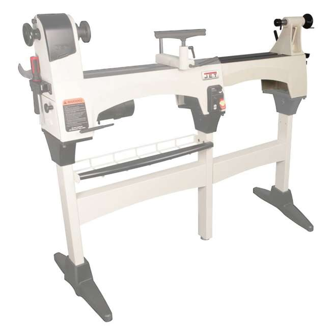 JWL-1221VS-U-C Jet Woodworking 22.5 Inch Lathe Double Size Bed Extension Kit, White (For Parts)