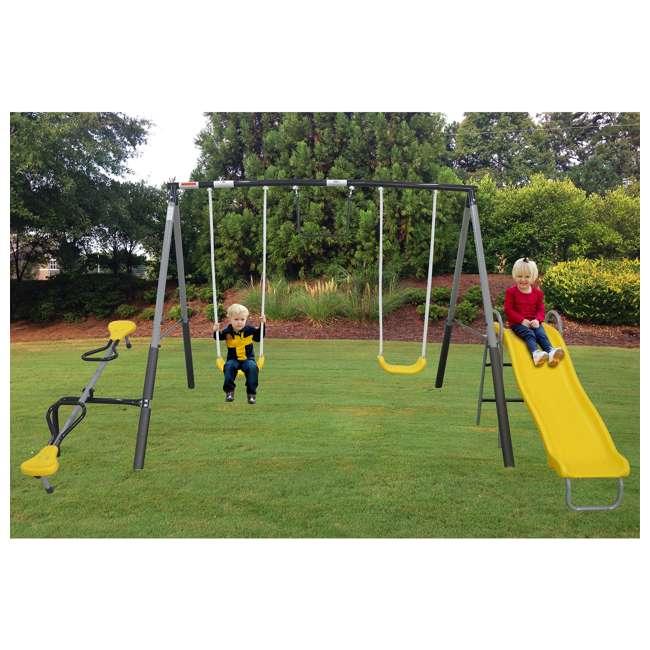 XDP-74506K XDP Recreation The Titan Outdoor Playground Kids' Swing Set 2