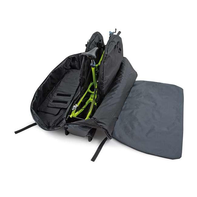 96900 B&W International Padded Lightweight Zippered Bike Bag and Case II, Black 4