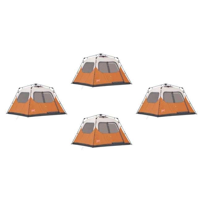 Coleman Outdoor C&ing Waterproof 6 Person Instant Tents (4 Pack) - 10u0027 x 9u0027 Foootprint  4 x 2000010196  sc 1 st  VMInnovations & Coleman Outdoor Camping Waterproof 6 Person Instant Tents (4 Pack ...