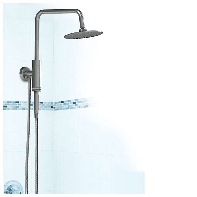 PULSE-1052-CH-U-C Pulse Aquarius Rain Shower Head with Hand Held Attachment, Chrome (For Parts) 3