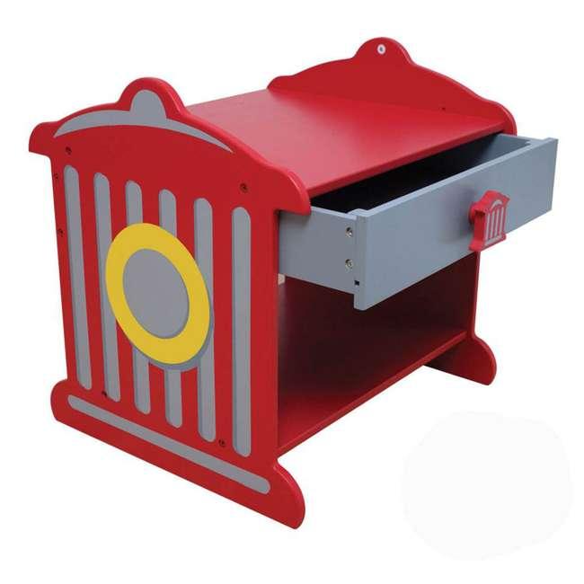 76024 KidKraft Firetruck Toddler Table | 76024
