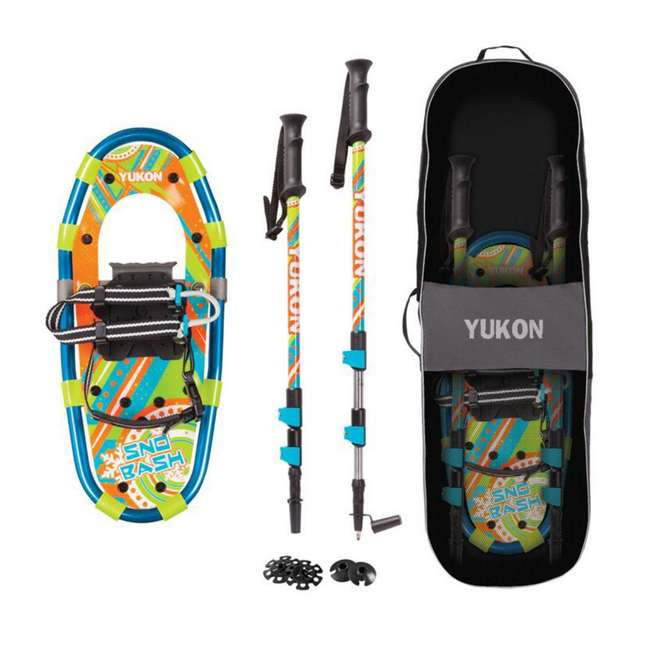 80-7006K Yukon Charlie's Sno-Bash Youth Hiking Snowshoe Kit