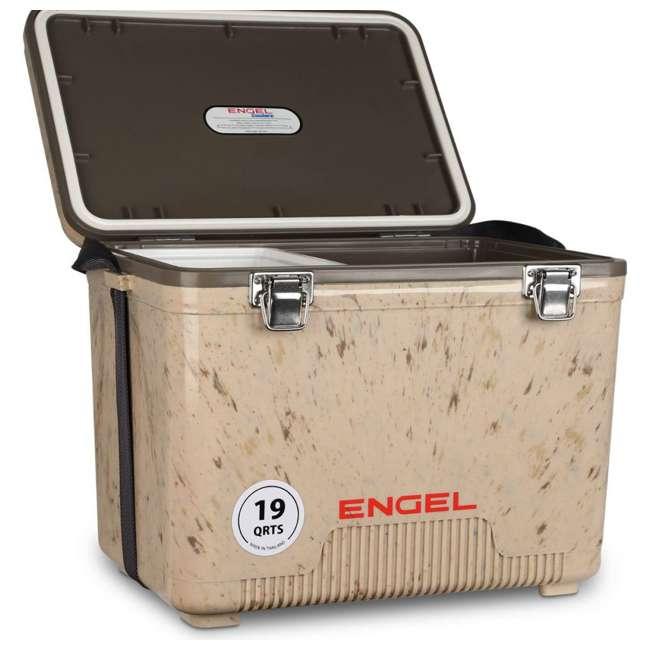 UC19C1 Engel 19-Quart Lightweight Dry Box Cooler, Grassland 5