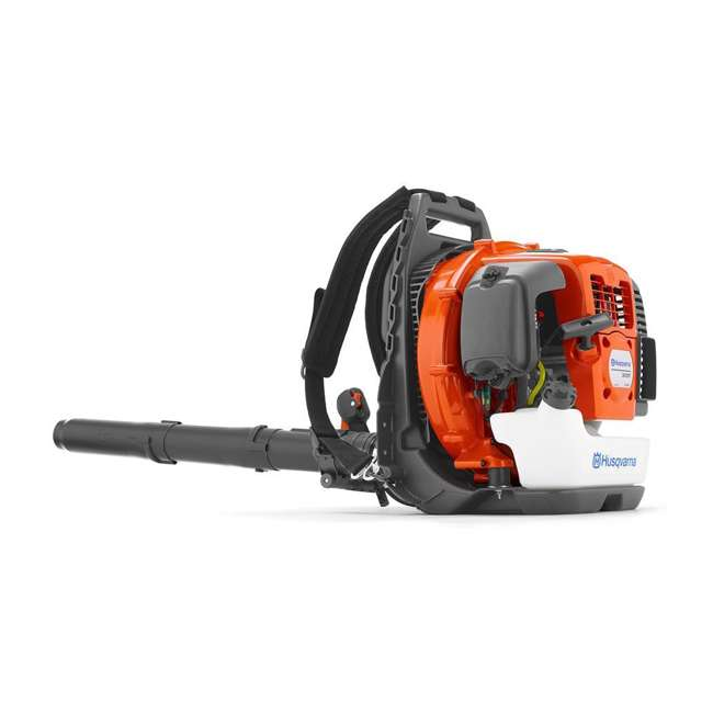 HV-BL-967144301 + HV-TOY-589746401 Husqvarna 2-Cycle 232 MPH Commercial Gas Leaf Blower + Kids Toy Leaf Blower 1