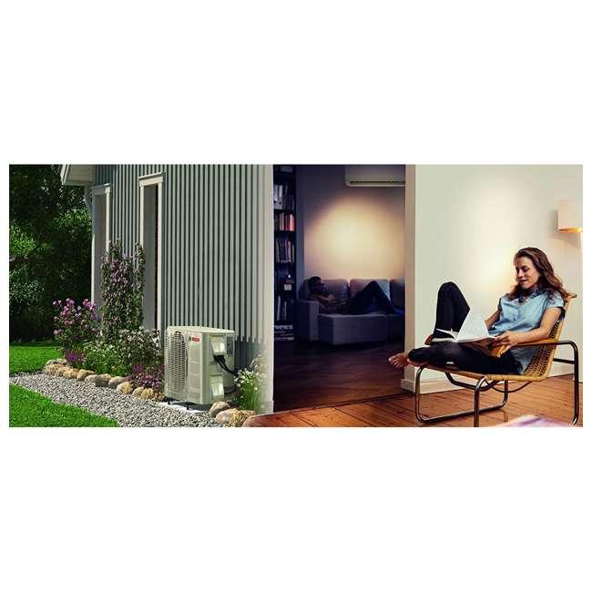 8733942695 + 8733942696 + 8733951010 Bosch Climate 5000 Mini Split Air Conditioner Heat Pump System, 9,000 BTU 230V 4