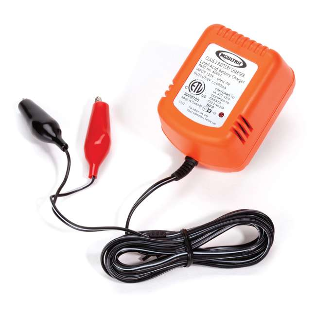 MFHP12406 + MFA-13211 Moultrie 6 Volt Battery - Rechargeable Safety Feeder Battery + 6 Volt Battery Charger 2
