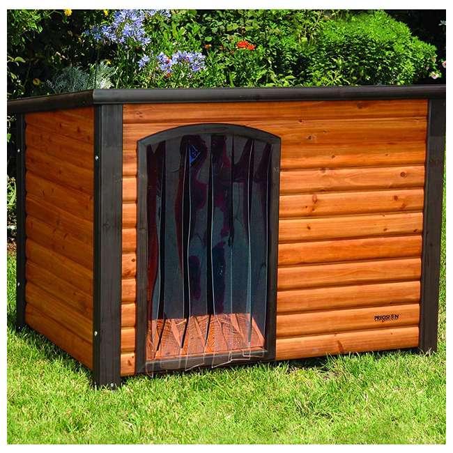 7027152 Precision Pet Outback Dog House Door, Medium/Large 1
