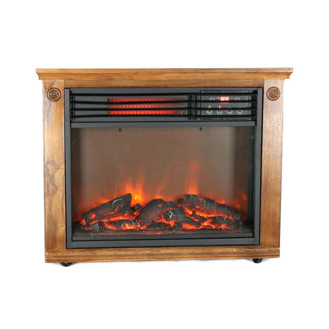 LS-1111HH-2 LifePro LS-1111HH 3 Element Electric Fireplace Heater 1