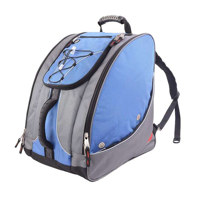330GLA Athalon Everything Travel Ready Camping Hiking Boot Bag Backpack, Glacier Blue
