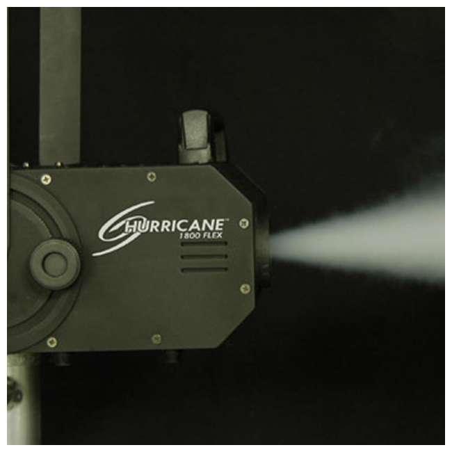 H1800FLEX + FJU Chauvet H1800FLEX Hurricane Fog/Smoke Pro Machine + Fog Juice Fluid (1 Gallon) 5