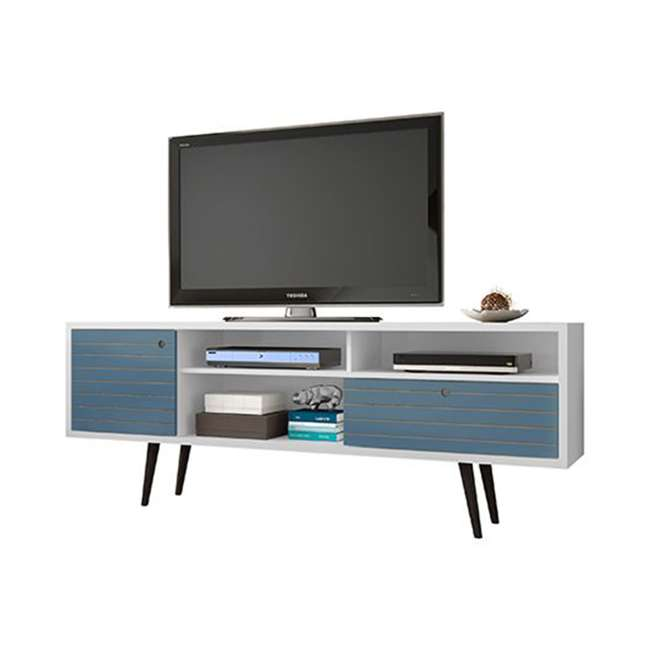 202AMC63 Manhattan Comfort Liberty 70.86 Inch Mid Century Modern Wood TV Stand with Legs 3