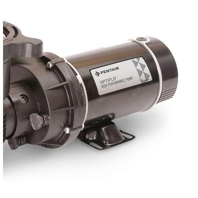 347991 Pentair 347991 OptiFlo Horizontal 1HP 115V 2 Speed Above Ground Pool Pump & Cord 2