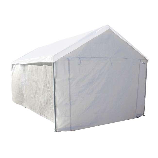CVAN22006200010 + CVAN12000211010 Caravan Canopy Domain 10 x 20-Foot Canopy with Sidewalls 6