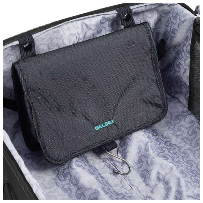 """40229182000 DELSEY Paris 25"""" Expandable Spinner Upright Hyperglide Luggage Suitcase, Black 8"""