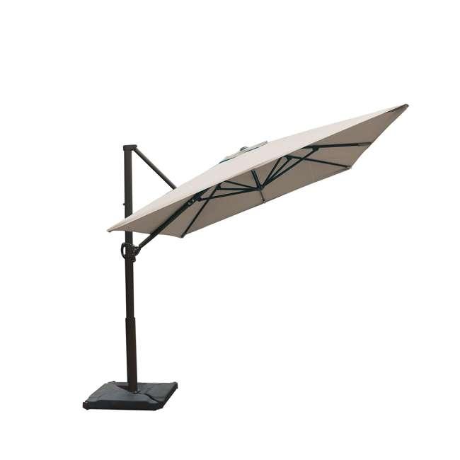APNRC810SC Abba Patio 8 x 10 Feet Rectangular Umbrella, Sand 3