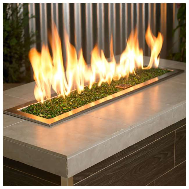 ECO-GRE-10 American Fireglass 1/4-Inch Fireplace and Fire Pit Eco Beads, 10LB, Jade Green 2