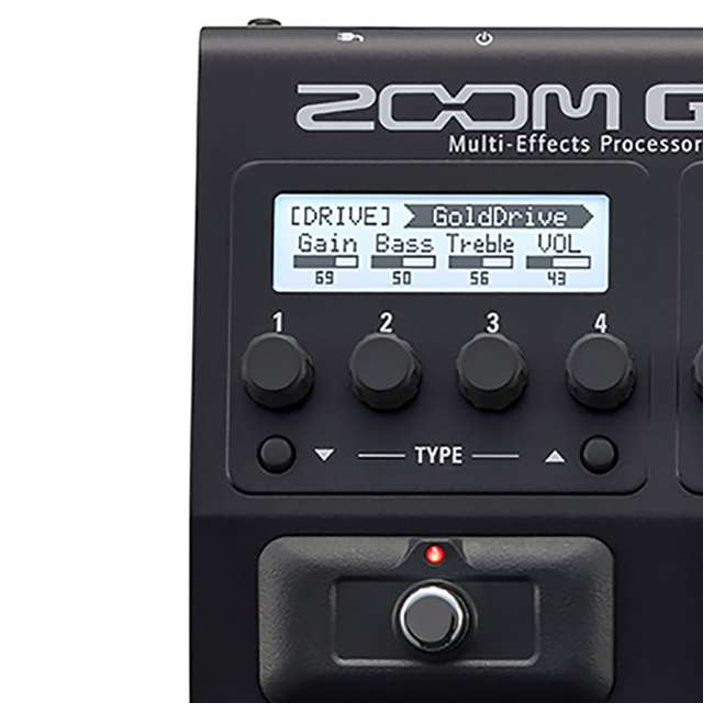 ZG3N-OB Zoom G3N Intuitive Multi-Effects Processor for Guitarists 4