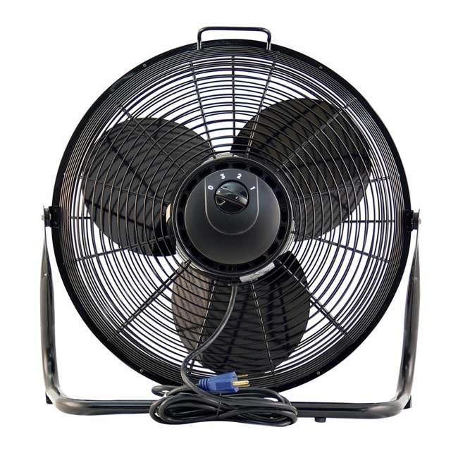 Air king 18 inch 1 6 hp industrial floor fan ak 9218 for 18 industrial floor fan