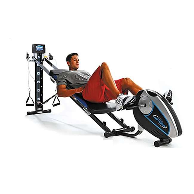 S500 Total Gym Attachable Cyclo Trainer w/ Digital Monitor for Home Workout Machines 2